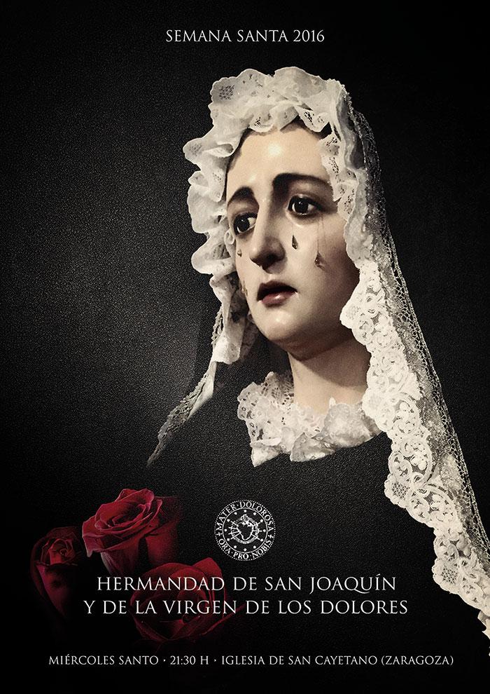 Cartel 2016 Dolorosa Zaragoza